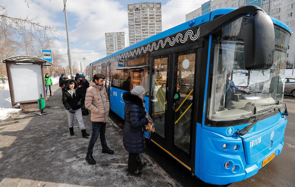 «Яндекс»: средняя скорость общественного транспорта Москвы выросла за год на 2%