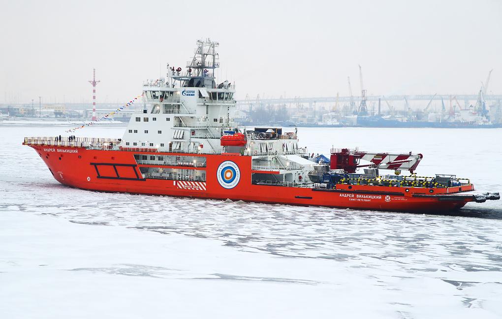 Новый ледокол «Андрей Вилькицкий» прибудет из Петербурга в Обскую губу в конце января