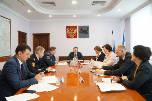 В Иркутской области усилят безопасность образовательных учреждений