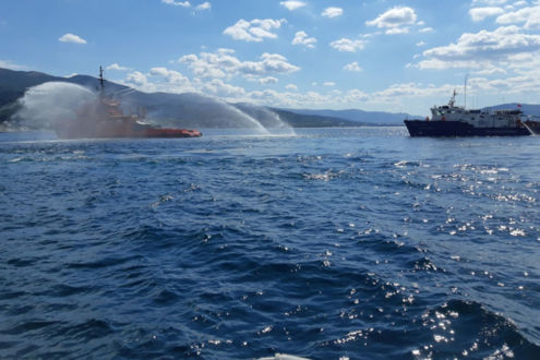 Прошла проверка Азово-Черноморского филиала Морспасслужбы